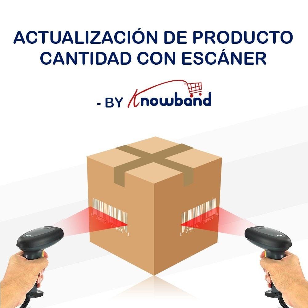 module - Edición Rápida y Masiva - Knowband - Actualización producto con escáner - 1