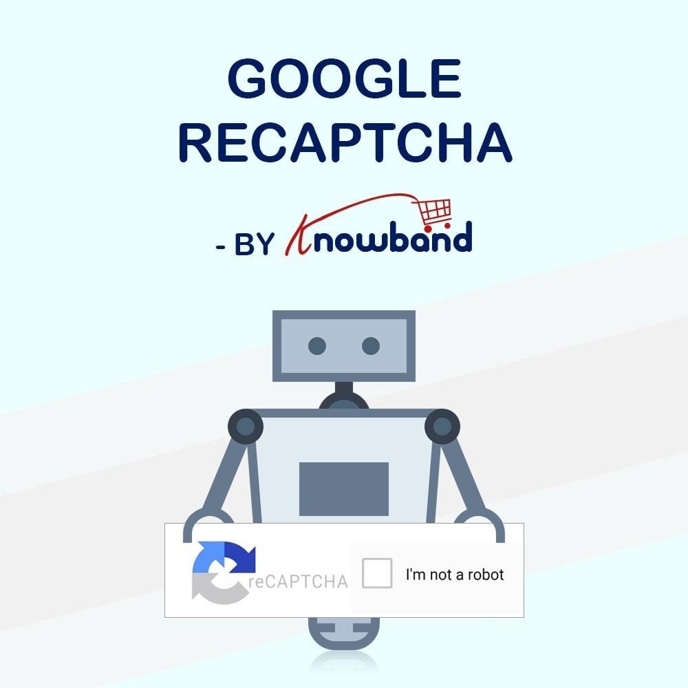 module - Seguridad y Accesos - Knowband - Módulo Google reCaptcha - 1