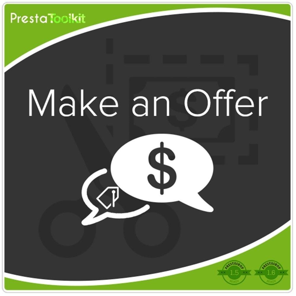 module - Preisverwaltung - Machen Sie ein Angebot, Schnäppchen - 1