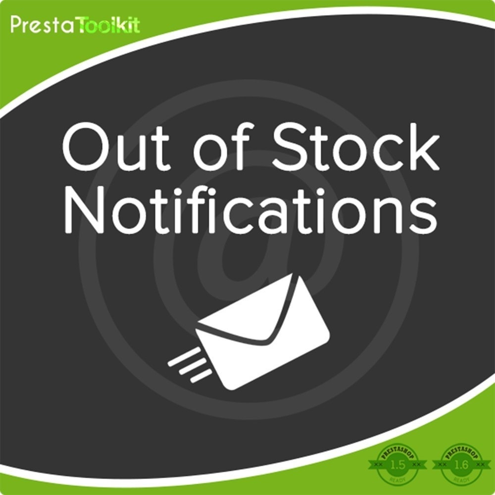 module - E-mails & Notifications - Notification de stock - 1