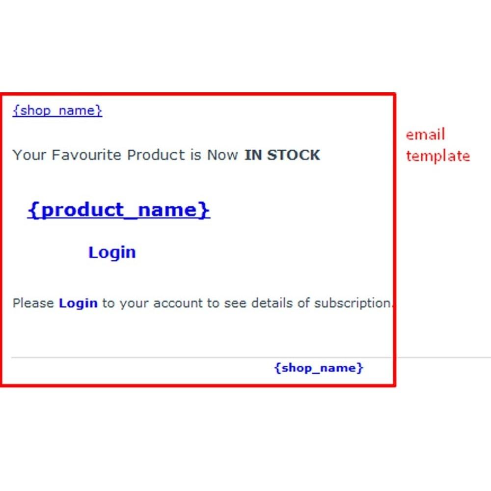 module - E-mails y Notificaciones - Notificación Fuera de Stock - 10