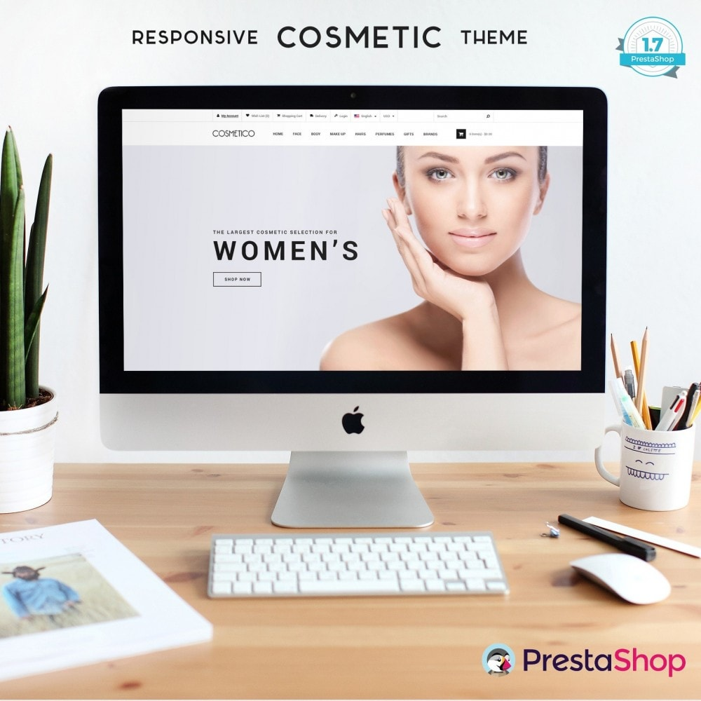 theme - Health & Beauty - Cosmetic Boutique - 1