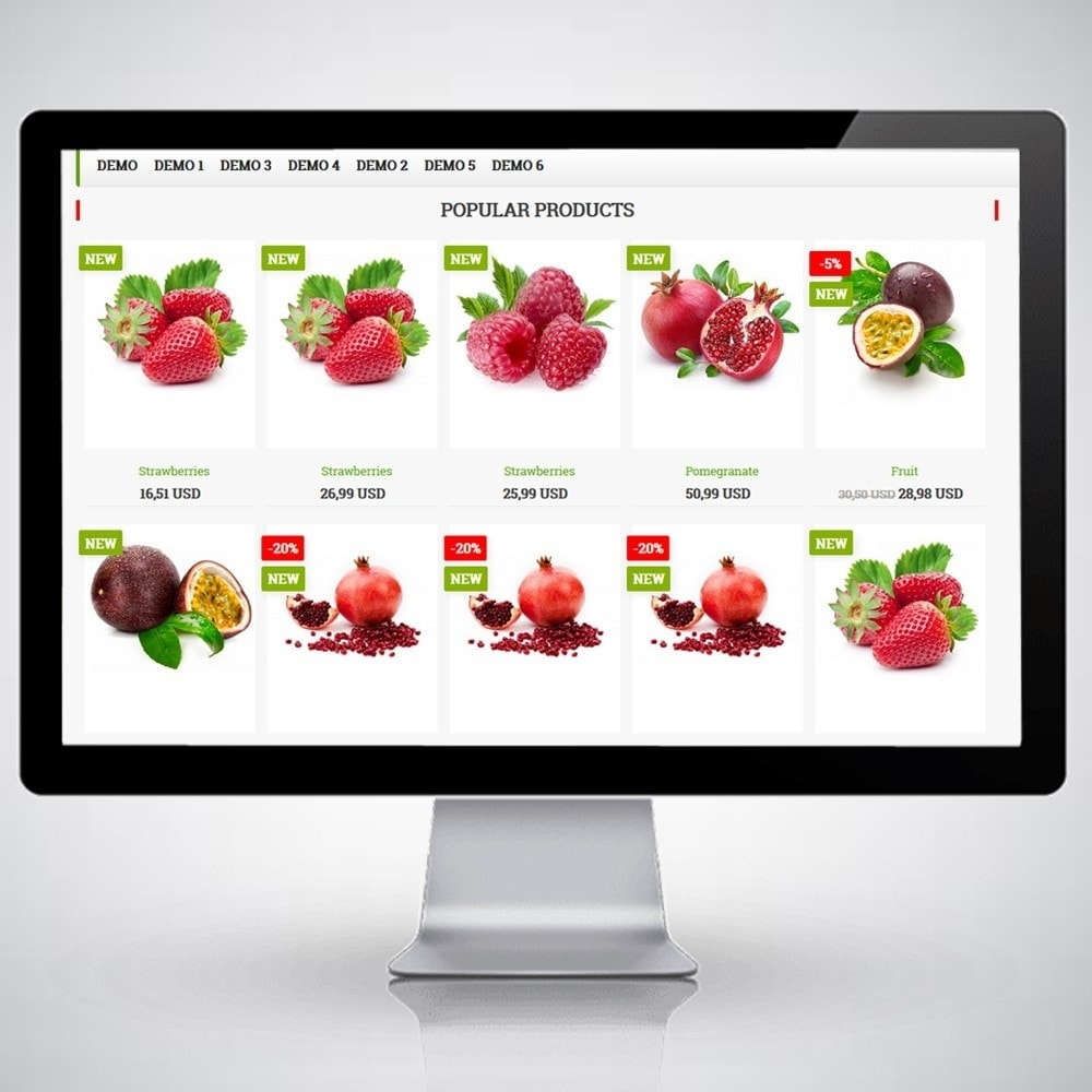 theme - Food & Restaurant - FruitsFoodWeb - 2