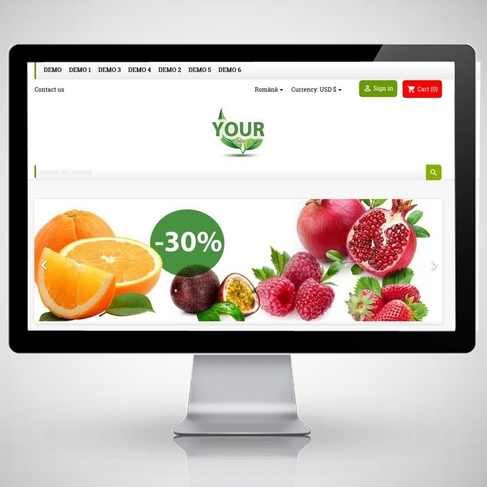 theme - Alimentation & Restauration - FruitsFoodWeb - 3