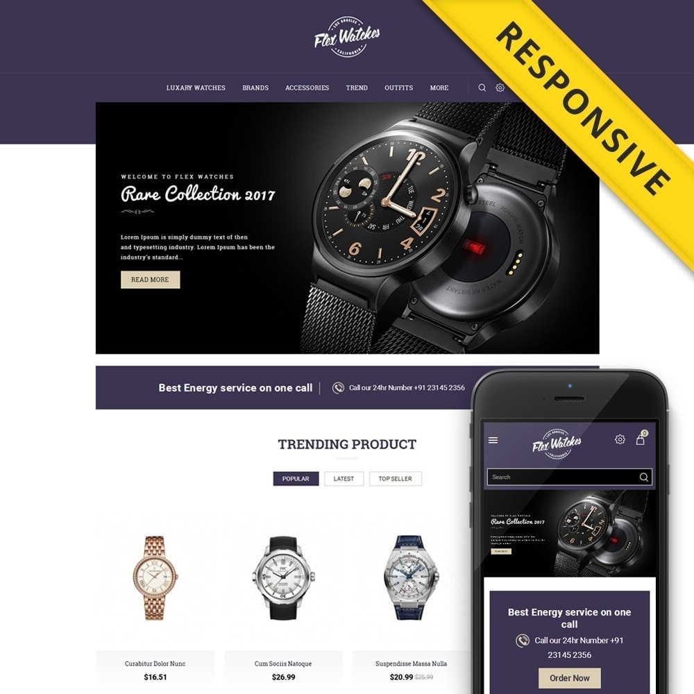 Flex Watches Store