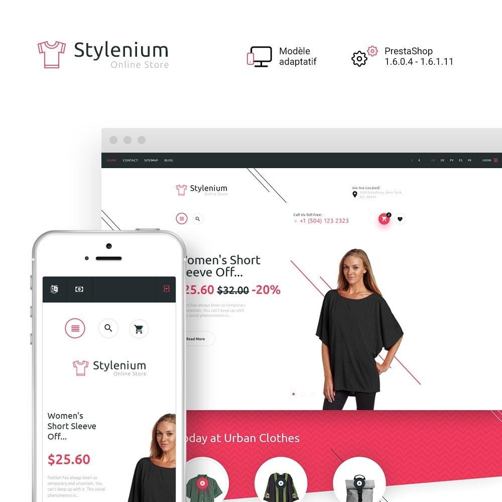 theme - Mode & Chaussures - Stylenium - Boutique de mode thème PrestaShop adaptatif - 2