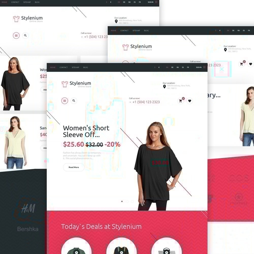 theme - Mode & Chaussures - Stylenium - Boutique de mode thème PrestaShop adaptatif - 4