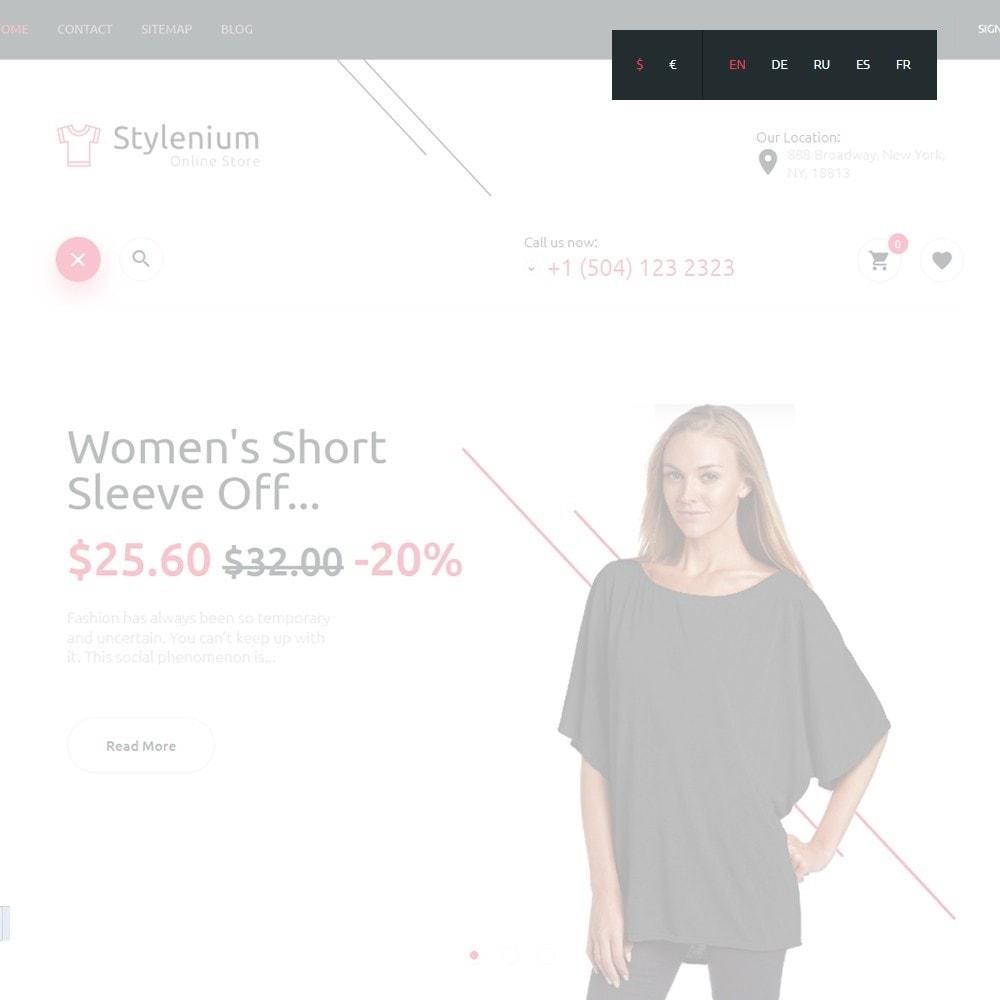 theme - Mode & Chaussures - Stylenium - Boutique de mode thème PrestaShop adaptatif - 6