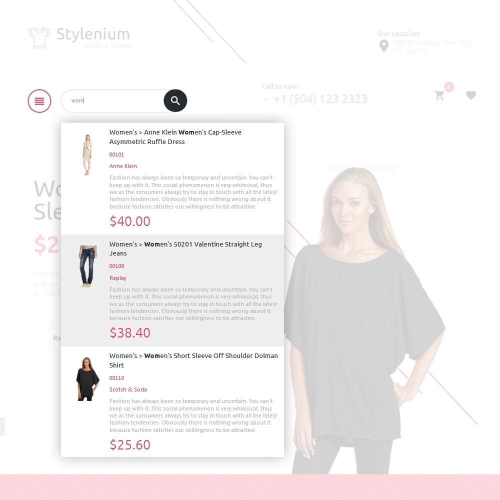 theme - Moda & Calzature - Stylenium - Negozio di abbigliamento PrestaShop - 5