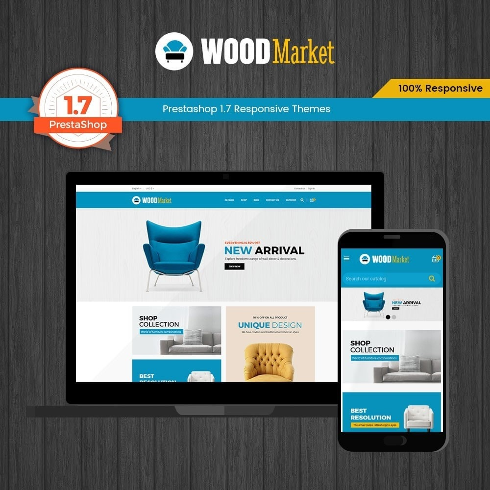 Wood - Furniture Store