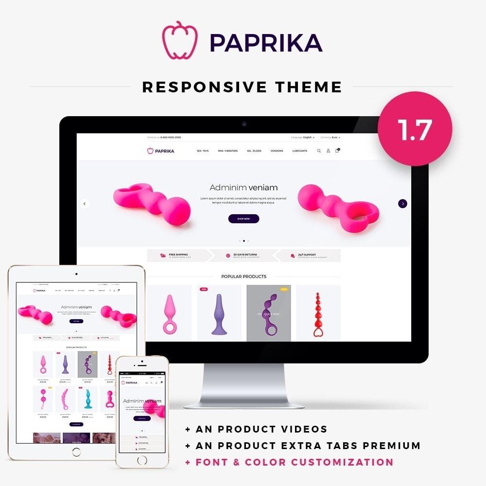 theme - Lingerie & Adult - Paprika - SexShop - 1