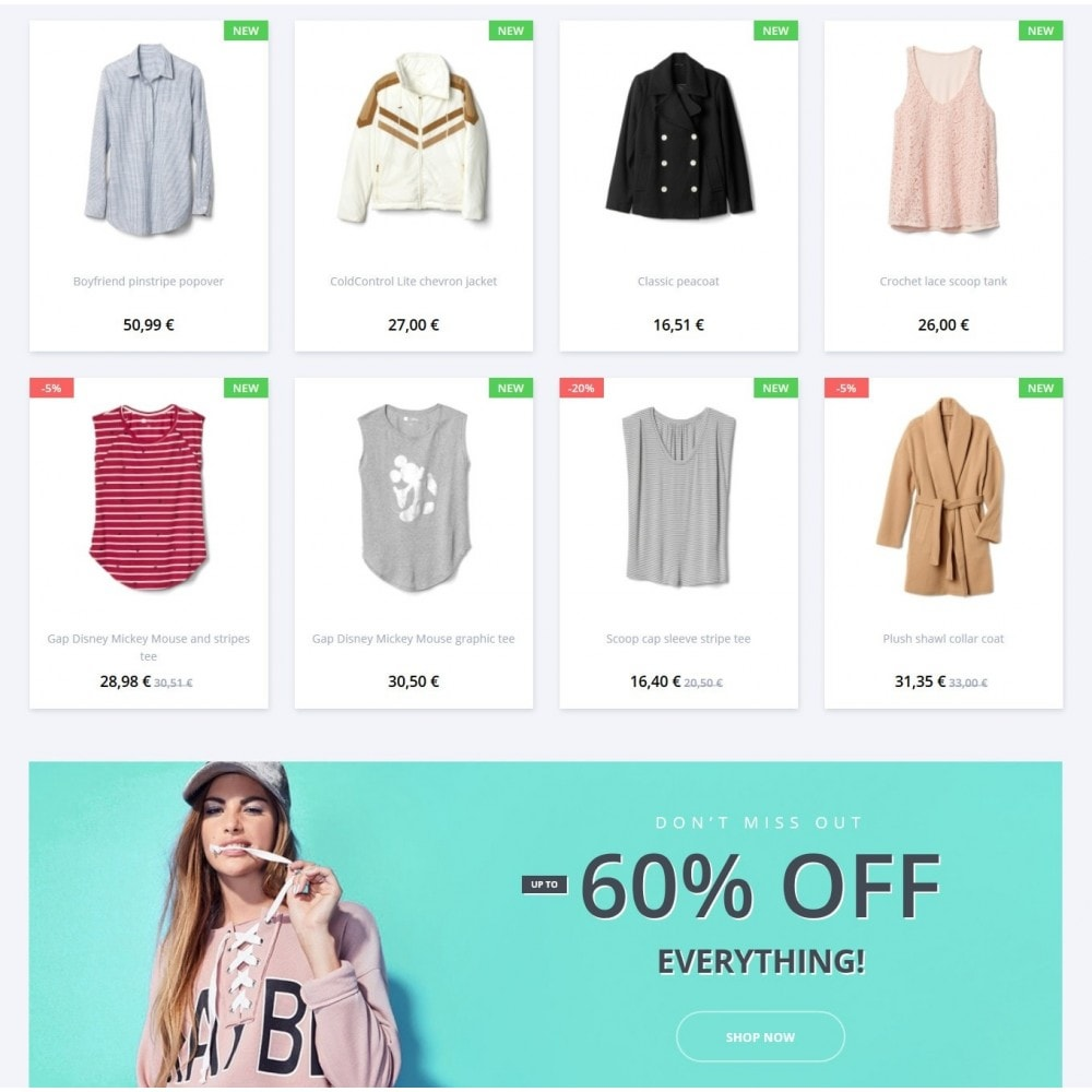 theme - Мода и обувь - Urbanwear  Fashion Store - 3