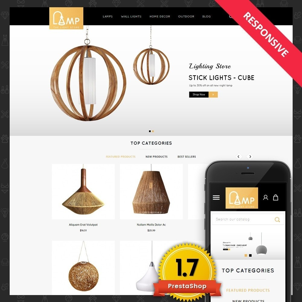 theme - Home & Garden - Lamp Store - 1