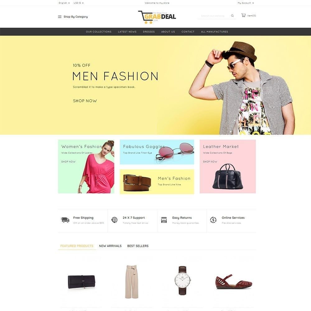 theme - Мода и обувь - Grabdeal - The Fashion Store - 2