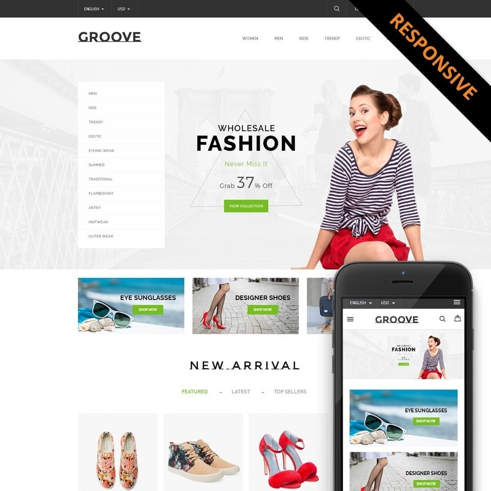 theme - Moda & Calzature - GrooveFashion Store - 1