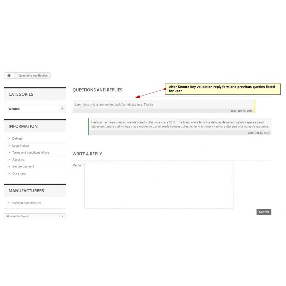 module - Formulaires de Contact & Sondages - Demande de produit - 8