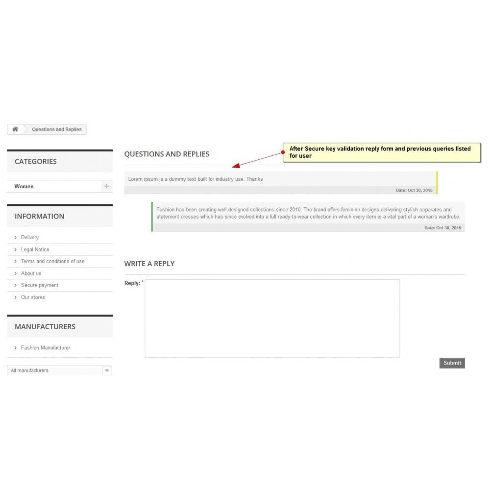 module - Kontaktformular & Umfragen - Produktanfrage - 9