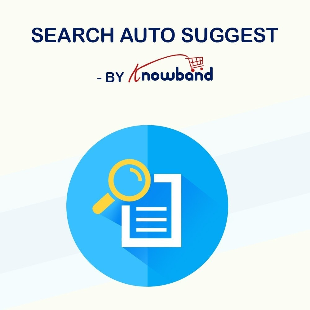 module - Поиск и фильтры - Knowband - Search Auto Suggest - 1