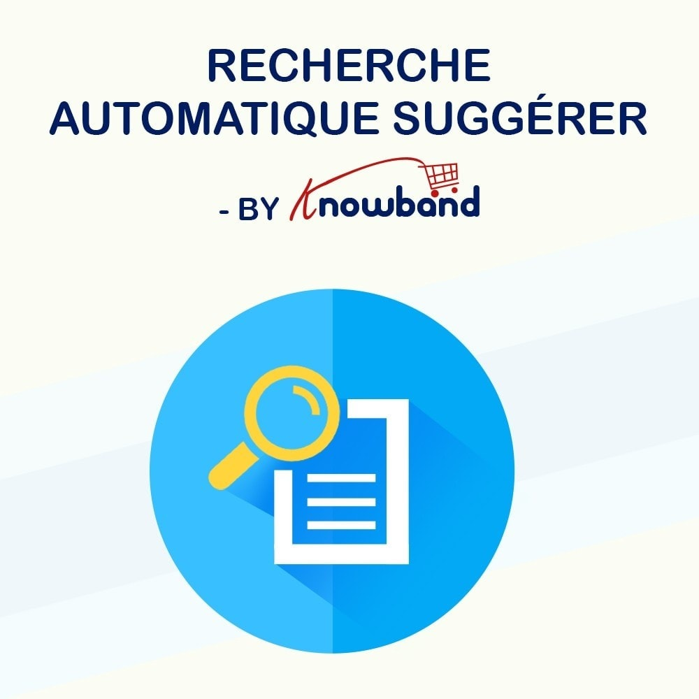 module - Recherche & Filtres - Knowband - Suggestion Automatique de Recherche - 1