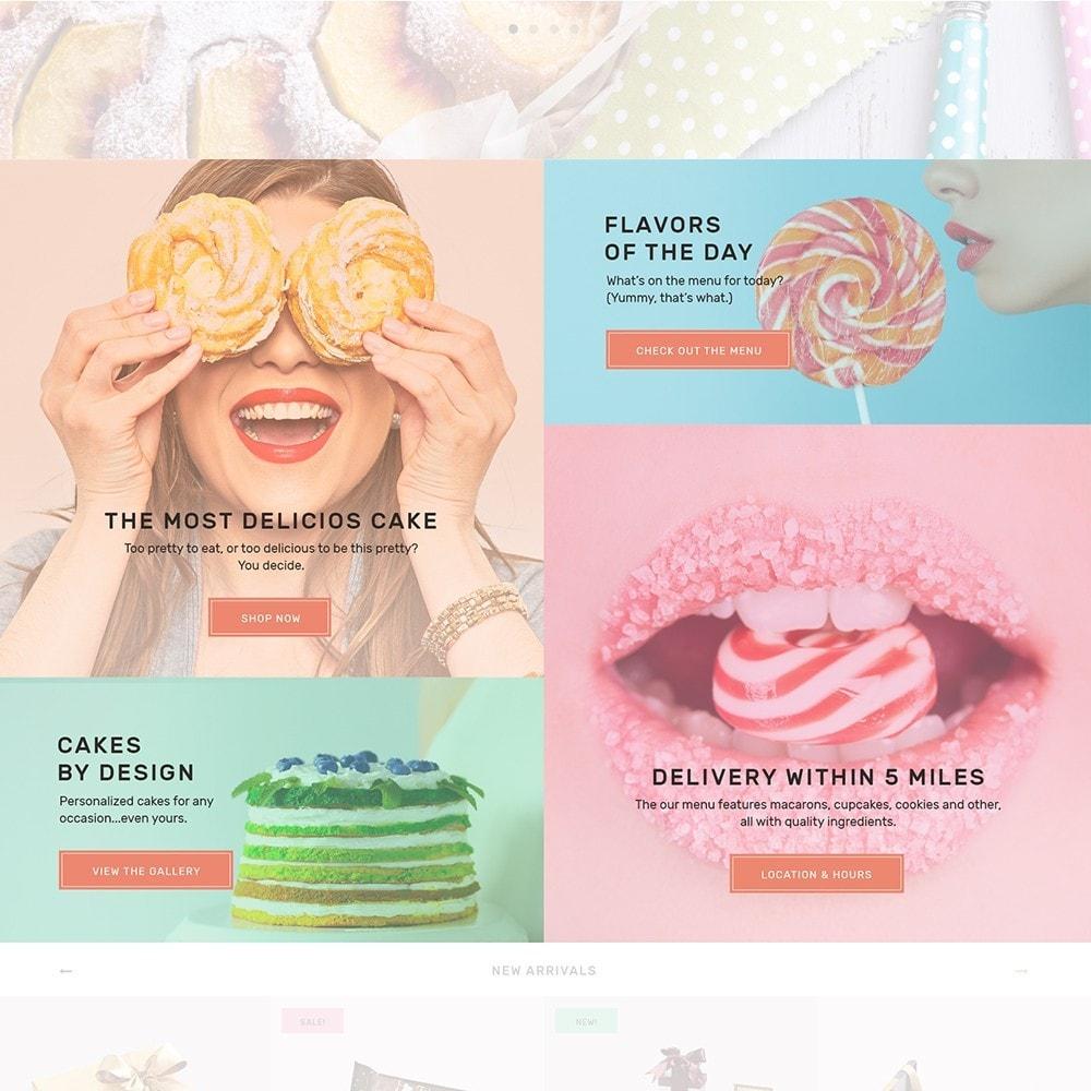 theme - Продовольствие и рестораны - Sweet4you - шаблон по продаже сладостей - 4