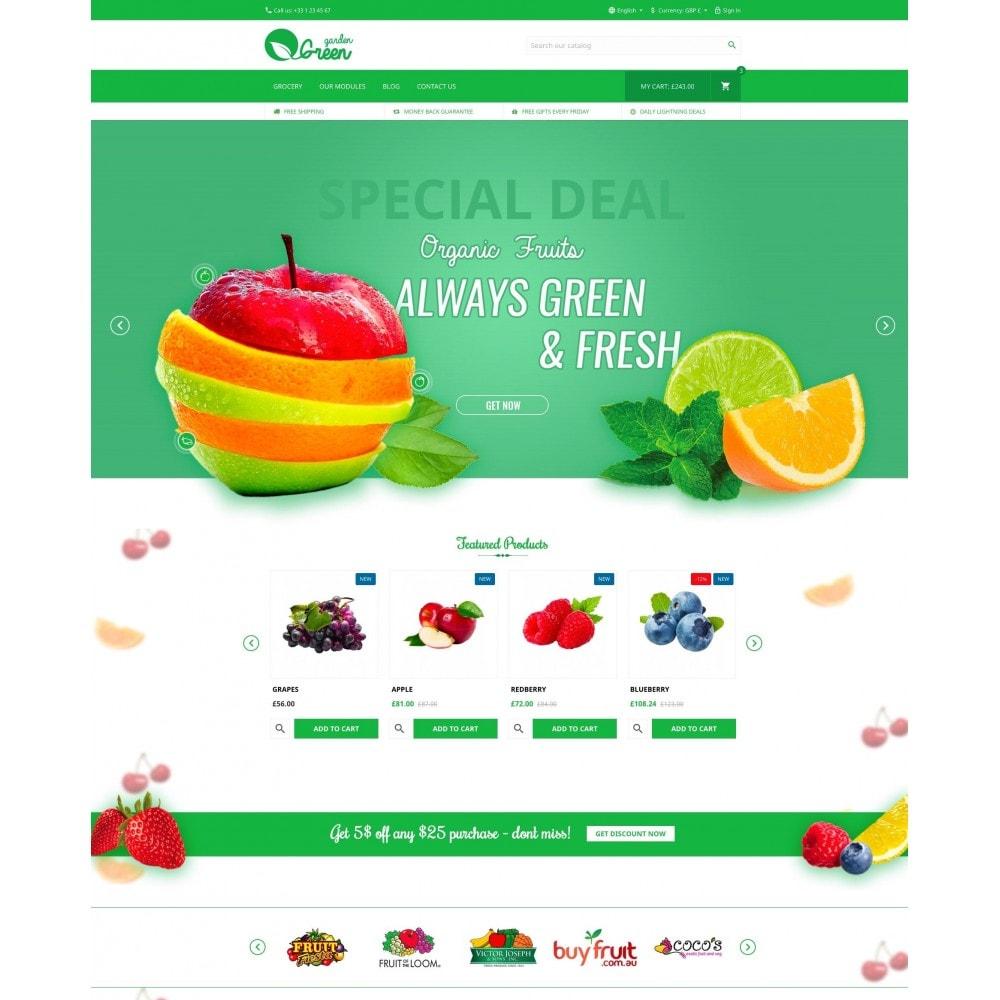 theme - Cibo & Ristorazione - Green Garden - 2