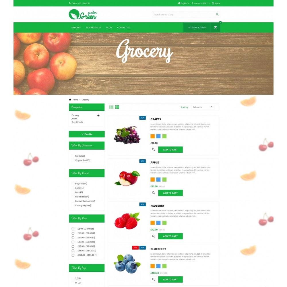 theme - Eten & Restaurant - Green Garden - 4