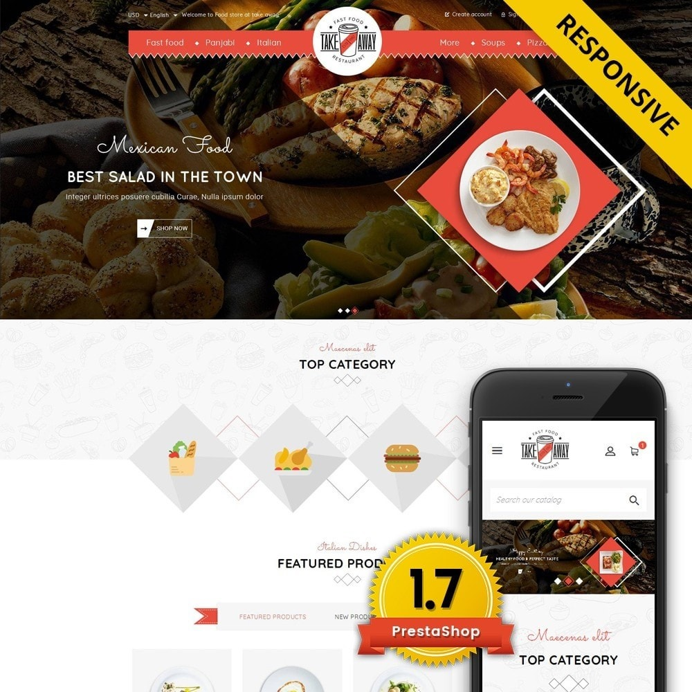 Takeaway - Online Restaurant