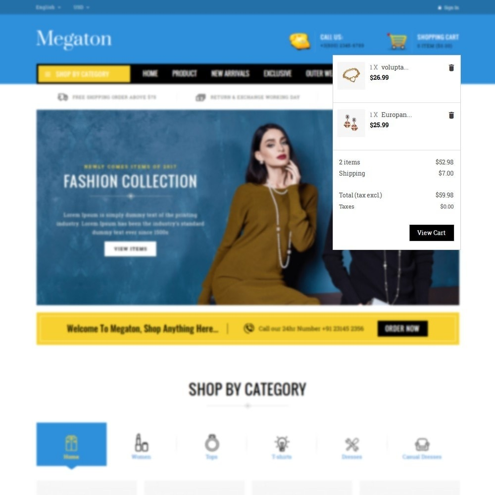 theme - Electronique & High Tech - Megaton Store - 7