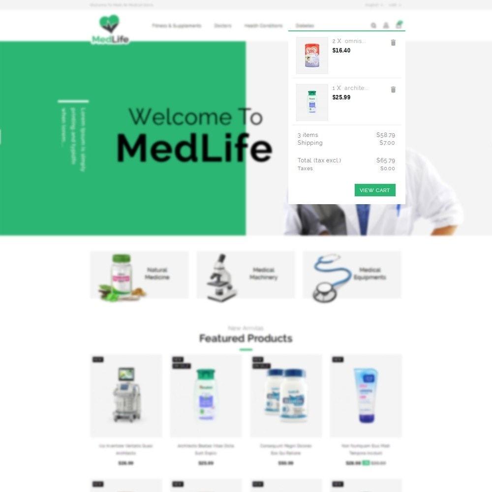 theme - Zdrowie & Uroda - MedLife Medical Store - 6