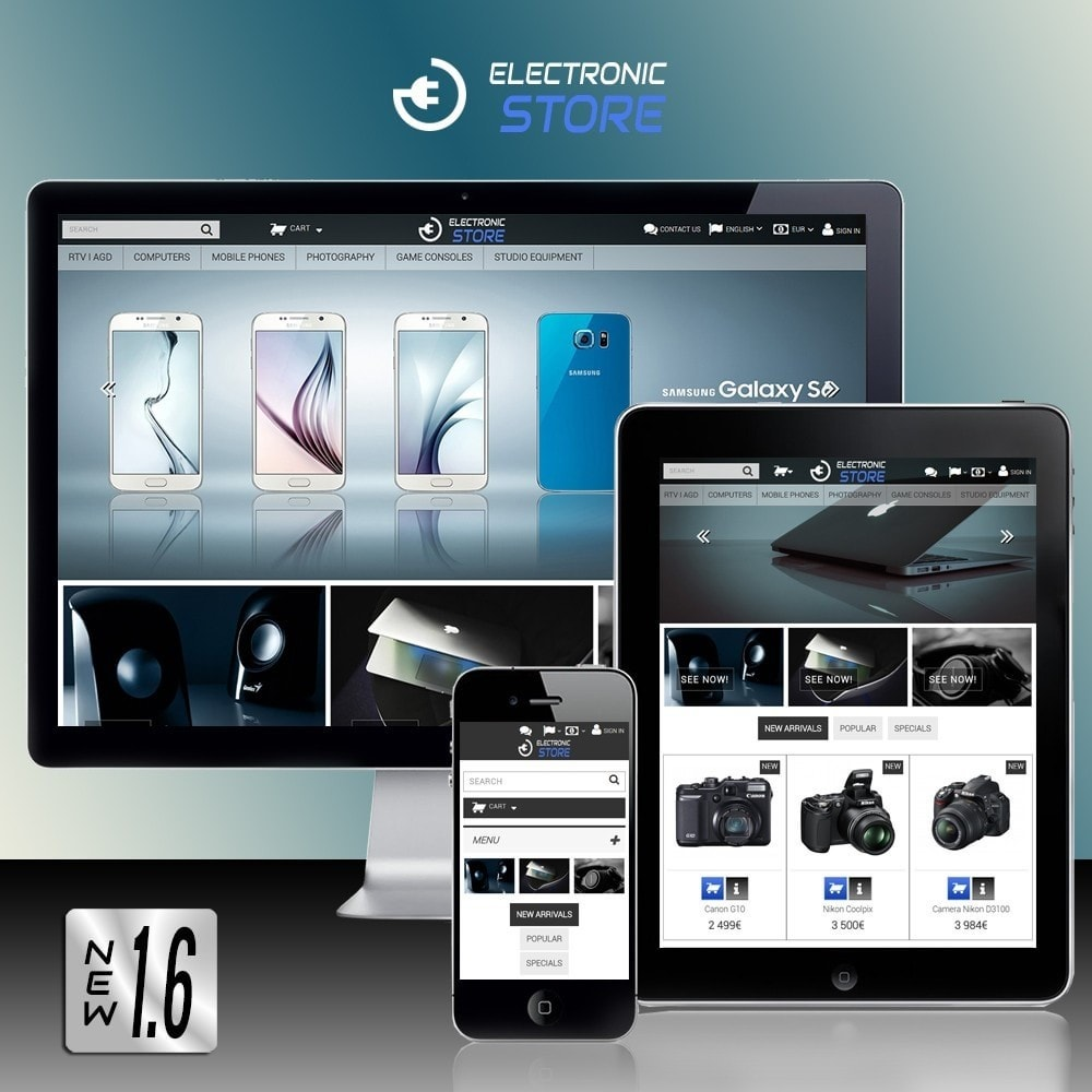 theme - Electrónica e High Tech - Electronic Store - 1