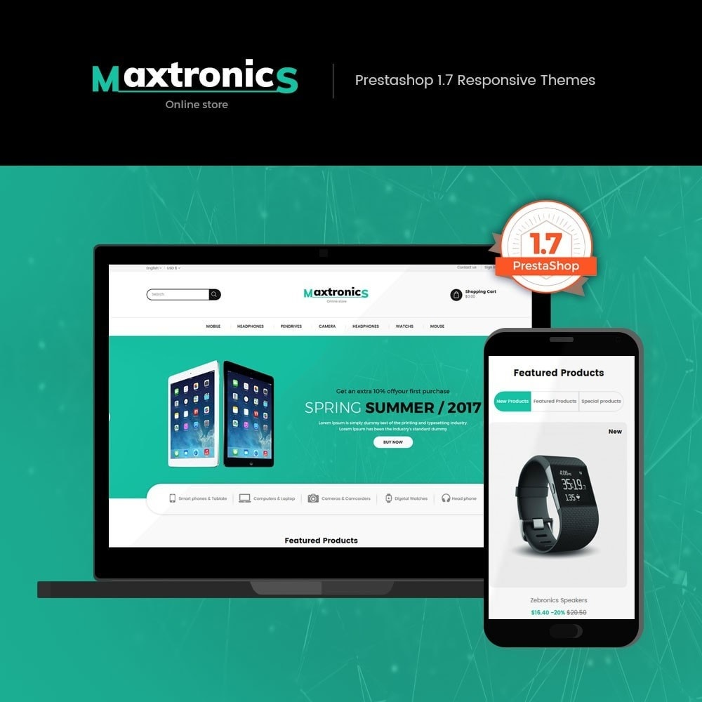 Maxtronics - Electronics Store
