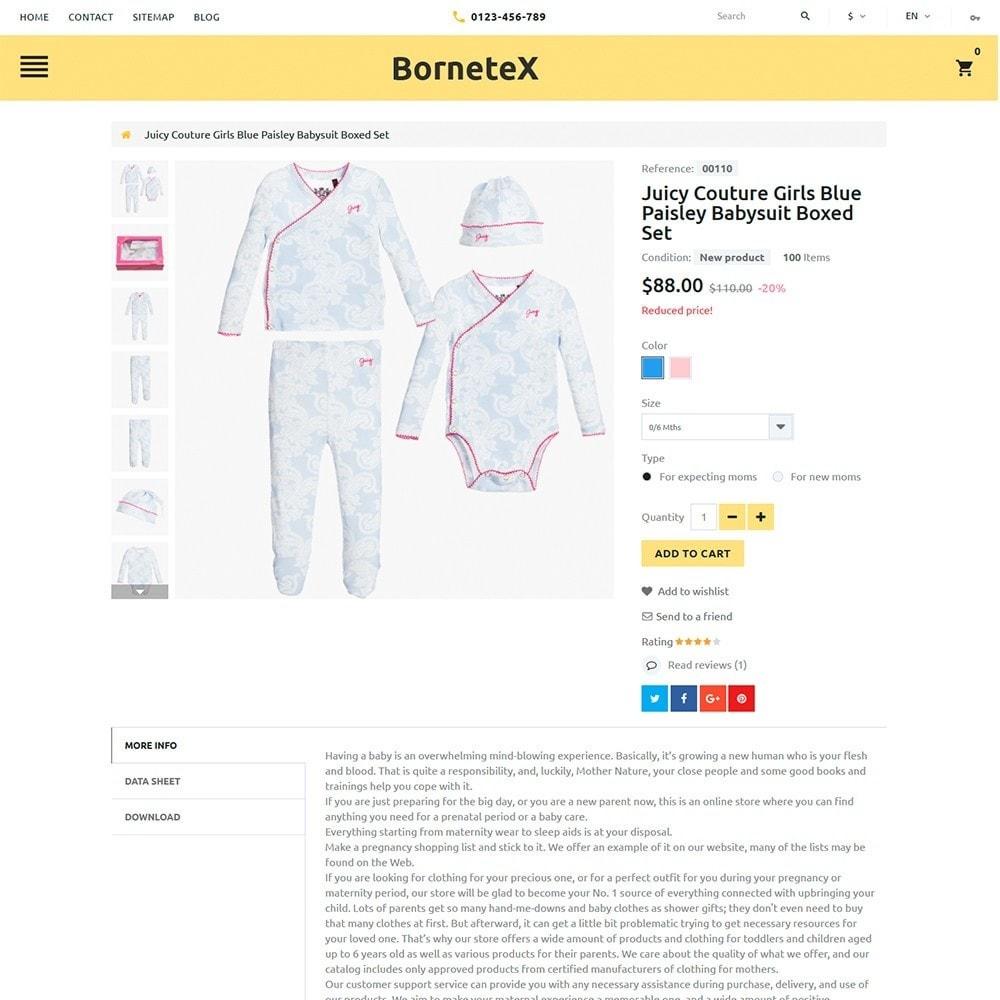 theme - Kids & Toys - BorneteX - Maternity Store - 4