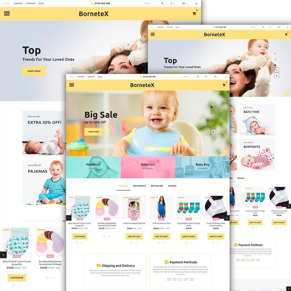 theme - Niños y Juguetes - BorteneX -  Sitio de Tienda de Productos para Bebés - 2