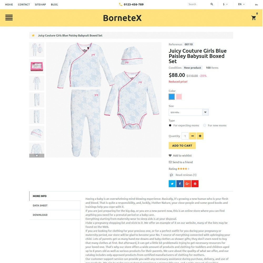 theme - Niños y Juguetes - BorteneX -  Sitio de Tienda de Productos para Bebés - 4