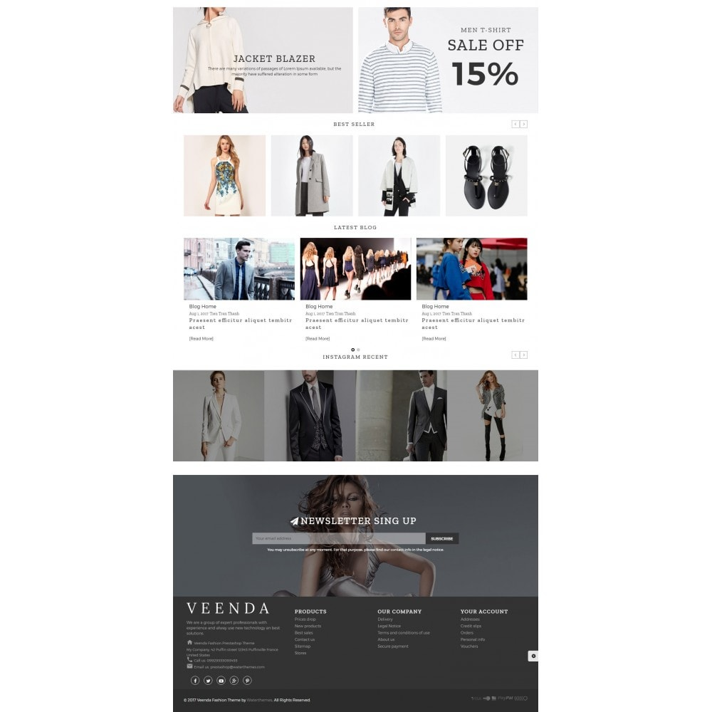 theme - Мода и обувь - Veenda Fashion Shop - 3