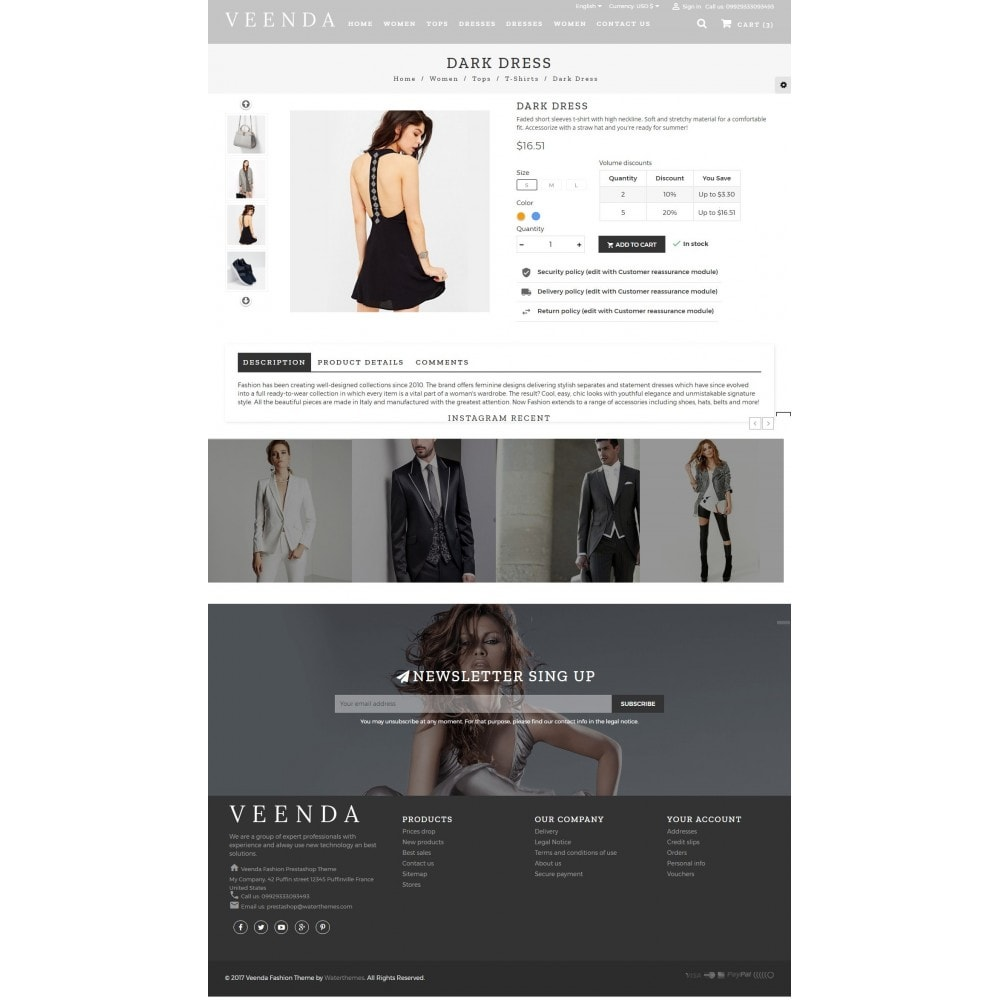 theme - Fashion & Shoes - Veenda Fashion Shop - 5