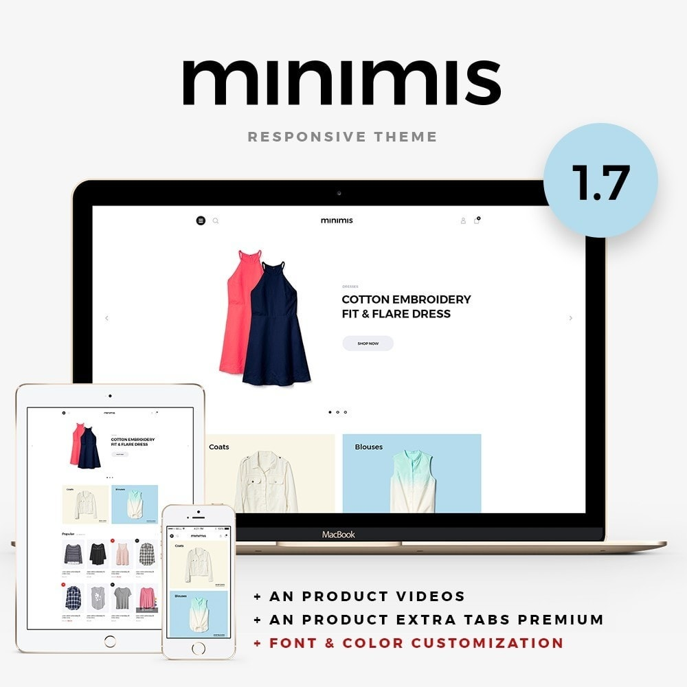 theme - Mode & Schuhe - Minimis Fashion Store - 1
