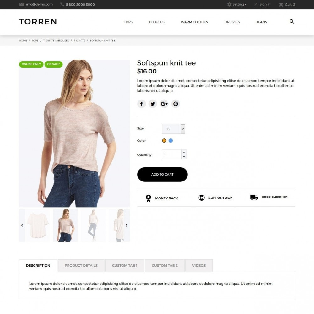 theme - Mode & Chaussures - Torren Fashion Store - 6