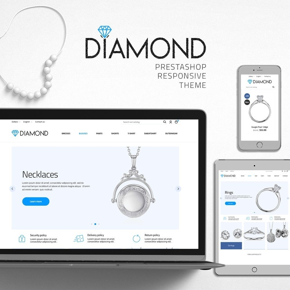 theme - Jewelry & Accessories - Diamond - 1
