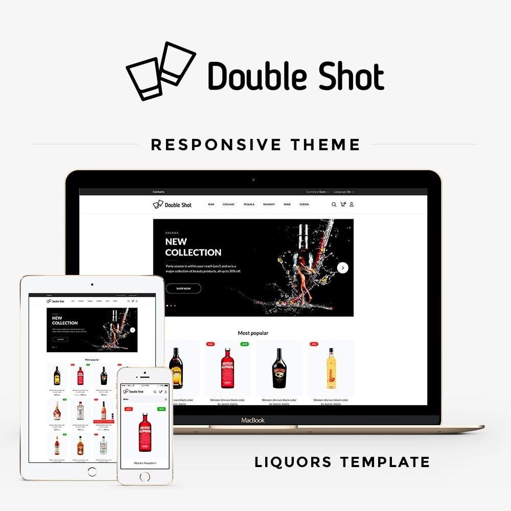 theme - Bebidas & Tabaco - Double shot Shop - 1