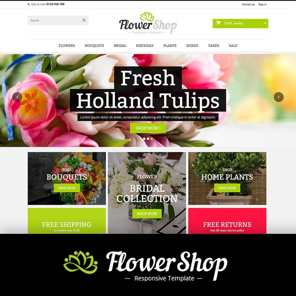 theme - Regalos, Flores y Celebraciones - FLOWER SHOP - 1
