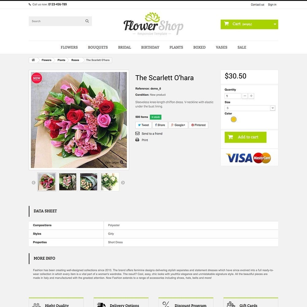 theme - Regalos, Flores y Celebraciones - FLOWER SHOP - 6