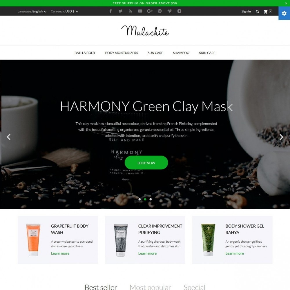 Malachite Cosmetics