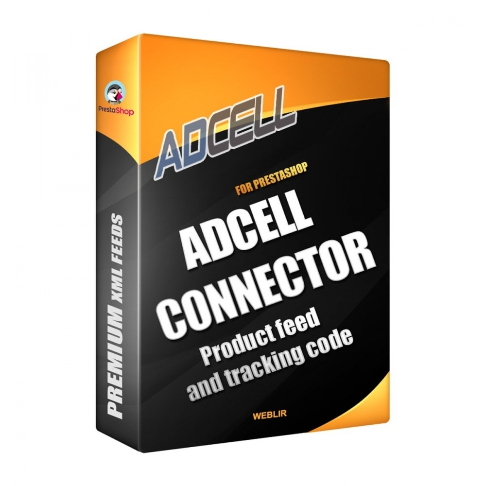 module - Conexão com software de terceiros (CRM, ERP...) - Adcell Connector - Product feed and tracking code - 1