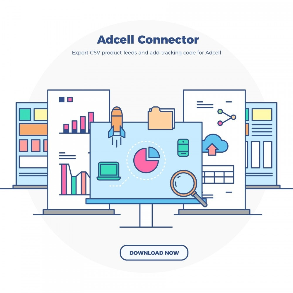 module - Third-party Data Integration (CRM, ERP...) - Adcell Connector - Product feed and tracking code - 7