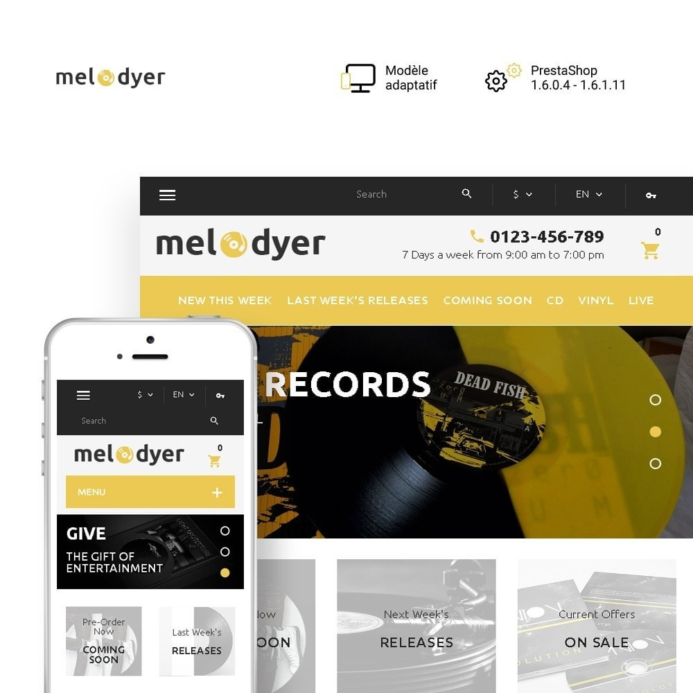 Melodyer - Magasin d'audio adaptatif