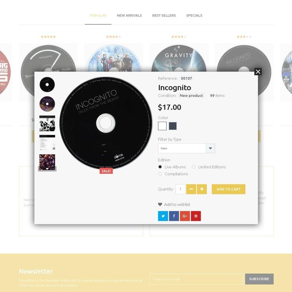 Melodyer - Negozio di CD Musicali Responsive