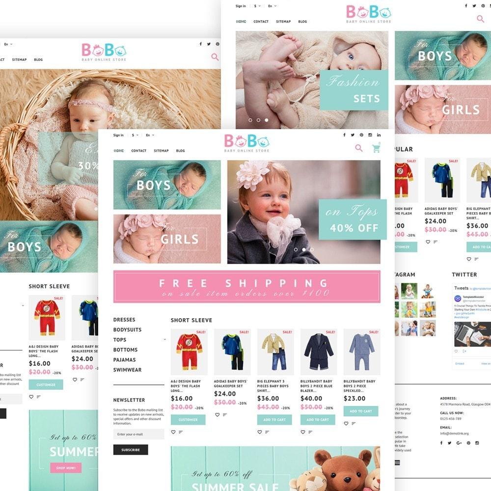 BoBo - Magasin pour bébés en ligne