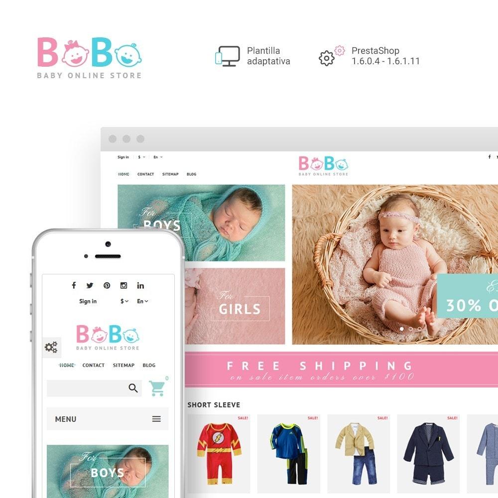 BoBo - Sitio de Tienda de Productos para Bebés