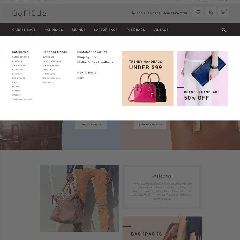 theme - Moda y Calzado - Auricus - Sitio de Bolsos - 3